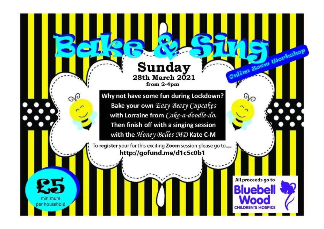 Honey Belles 'Bake & Sing' - - - Sign up NOW