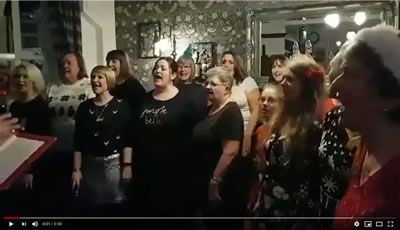 Jingle Bells - Arr. Audrey Snyder - Chesterfield Arms Gig - Dec 2019